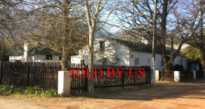 Greyton property for sale – historical de Gang, 5 bedroom homestead or dual living – Ref: DGJ