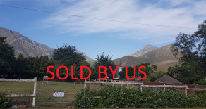 Plot for sale in Greyton – residential or business use – Ref: SPH
