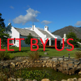 Smallholding with spacious house, flat & pool to let in Greyton – Ref: EQR
