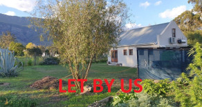 Light, bright and neat 2 bedroom cottage to rent in Greyton – Ref 30BKTR