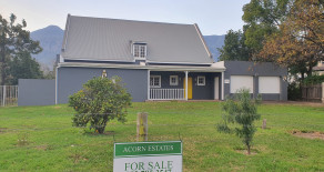 Very spacious 2 bedroom home for sale in Greyton – Ref: 10QR
